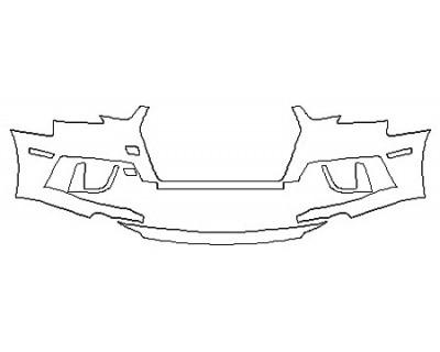 2019 AUDI S4 BASE Bumper
