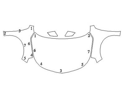 2019 CHEVROLET MALIBU RS Full Hood Fenders Mirrors