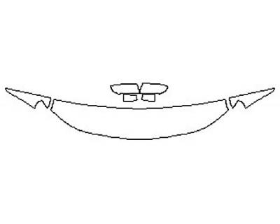 2020 CHEVROLET SILVERADO 1500 CUSTOM TRAILBOSS Hood (18 Inch) Fenders Mirrors)