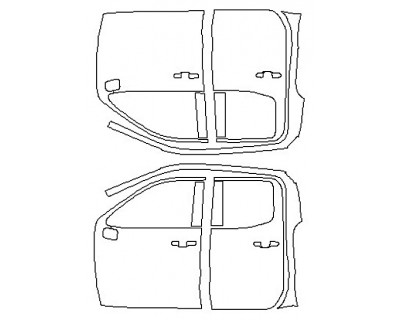 2020 CHEVROLET SILVERADO 1500 CUSTOM TRAILBOSS Full Doors (Double Cab)