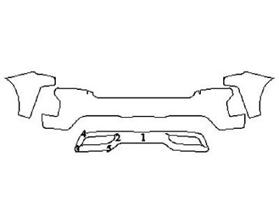 2020 CHEVROLET SILVERADO 1500 LT Bumper