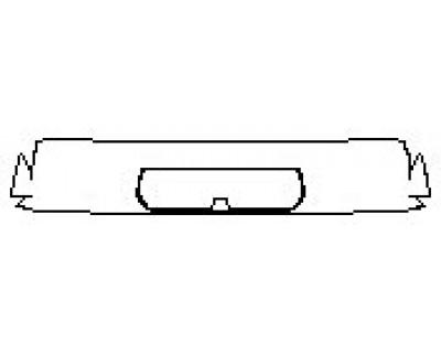 2020 CHEVROLET SILVERADO 1500 LT Spoiler (3rd Brake Light Camera)