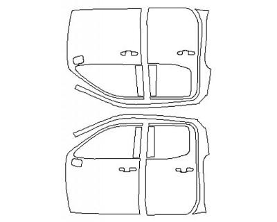 2020 CHEVROLET SILVERADO 1500 LT Full Doors (Double Cab)