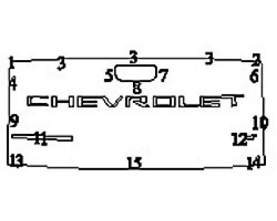 2020 CHEVROLET SILVERADO 1500 LT Tailgate