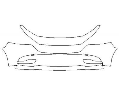 2020 MAZDA MAZDA3 4DR BASE Bumper