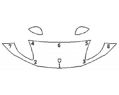 2019 PORSCHE MACAN BASE Hood (24 Inch) Fenders Mirrors)