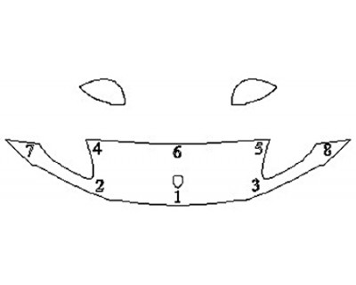2019 PORSCHE MACAN BASE Hood (18 Inch) Fenders Mirrors)
