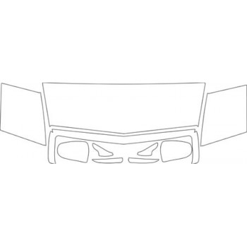 1995 CADILLAC EL DORADO  HOOD FENDER GRILLE AND MIRROR KIT