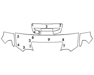 2020 GMC SIERRA 2500 AT4 Hood (24 Inch) Fenders Mirrors