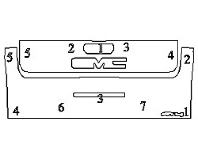 2020 GMC SIERRA 2500 AT4 Tailgate