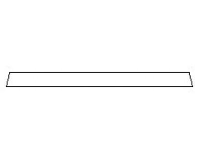 2020 HYUNDAI PALISADE SE Rear Bumper Deck