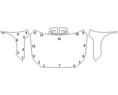 2020 HYUNDAI PALISADE SEL Full Hood Fenders Mirrors
