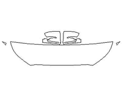 2020 HYUNDAI PALISADE SEL Hood (18 Inch) Fenders Mirrors