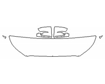 2020 HYUNDAI PALISADE SEL Hood (18 Inch Wrapped Edges) Fenders Mirrors
