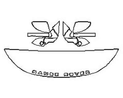 2020 LAND ROVER RANGE ROVER EVOQUE S Hood (18 Inch) Fenders Mirrors)