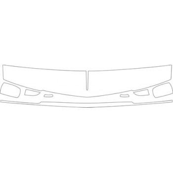 1995 CADILLAC SEVILLE STS  HOOD FENDER AND MIRROR KIT