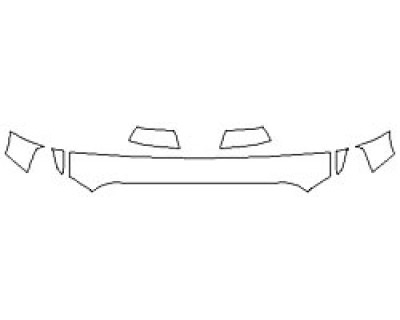 2020 TOYOTA TUNDRA LIMITED Hood (12 Inch) Fenders