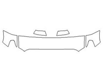 2020 TOYOTA TUNDRA PLATINUM Hood (18 Inch) Fenders