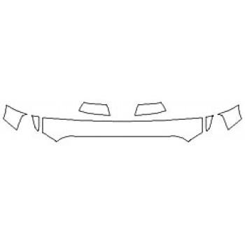 2020 TOYOTA TUNDRA PLATINUM Hood (12 Inch) Fenders