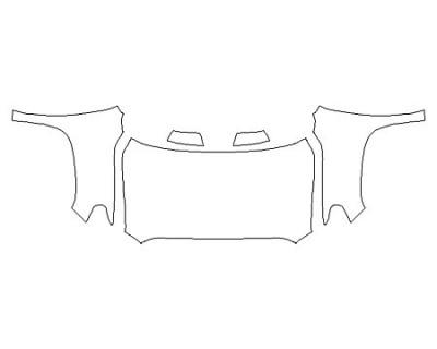 2020 TOYOTA TUNDRA SR5 Full Hood Fenders Mirrors