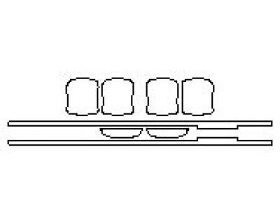 2020 TOYOTA TUNDRA SR5 Door Cups