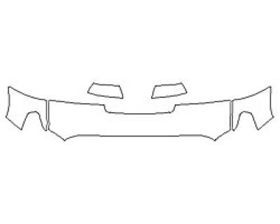 2020 TOYOTA TUNDRA SR5 TRD SPORT Hood (18 Inch) Fenders