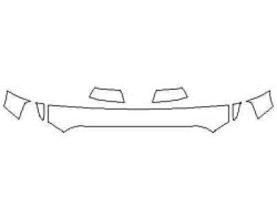 2020 TOYOTA TUNDRA SR5 TRD SPORT Hood (12 Inch) Fenders