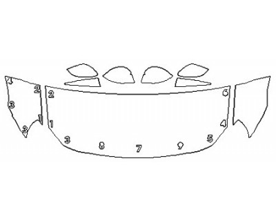 2020 TOYOTA 86 HAKONE EDITION Hood (24 Inch) Fenders Mirrors
