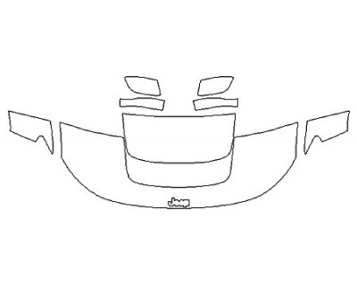 2020 JEEP COMPASS UPLAND Hood (24 Inch) Fenders Mirrors