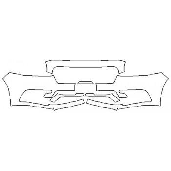 2020 LINCOLN CONTINENTAL BLACK LABEL Bumper (Plate Cutout)