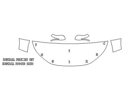 2020 HONDA CR-V LX Hood (24 Inch) Fenders Mirrors