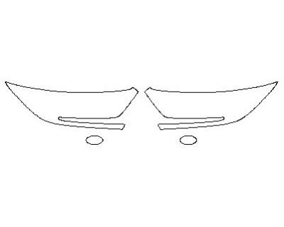 2020 HONDA CR-V LX Headlights Fog Lights