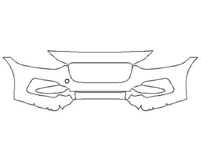 2020 JAGUAR XE P250 S Bumper