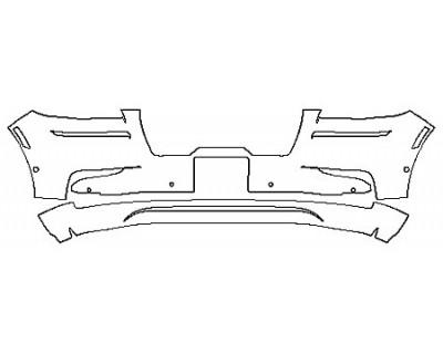 2020 LINCOLN AVIATOR BLACK LABEL Bumper