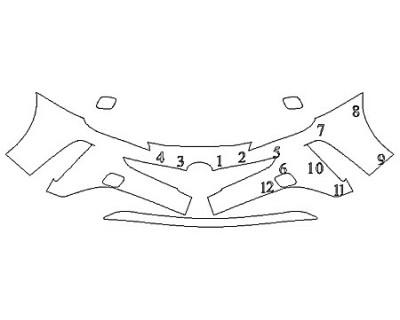 2020 TOYOTA PRIUS AWD-E Bumper (2 Piece)