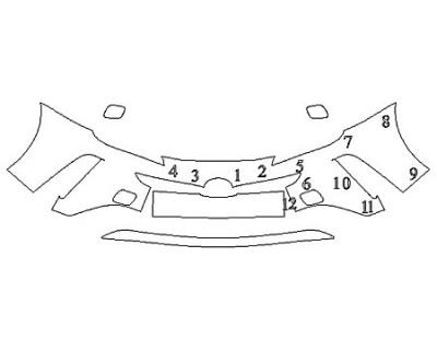 2020 TOYOTA PRIUS AWD-E Bumper (3 Piece)