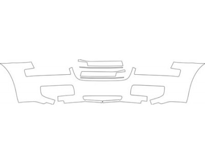 2010 CHRYSLER 300 TOURING  Bumper Kit