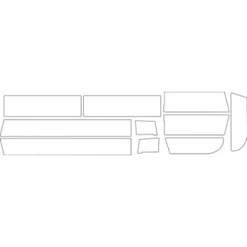 1988 CHEVROLET C-K SERIES  ROCKER PANEL KIT-EXTENDED CAB SHORT BED