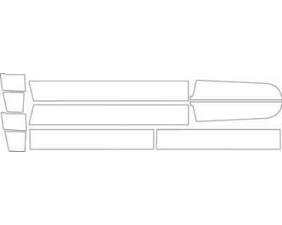 1997 CHEVROLET SUBURBAN BASE MODEL  ROCKER PANEL KIT