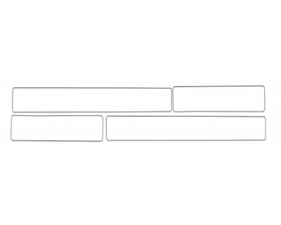 1997 DODGE DAKOTA  DOOR SILLS