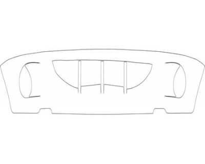 1997 DODGE DURANGO  BUMPER- LOWER