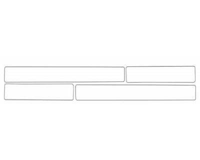 1997 DODGE DURANGO  DOOR SILLS