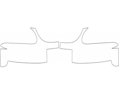1996 FORD MUSTANG  BUMPER KIT
