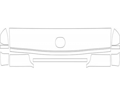 1997 FORD E SERIES VAN  HOOD FENDER AND GRILLE KIT