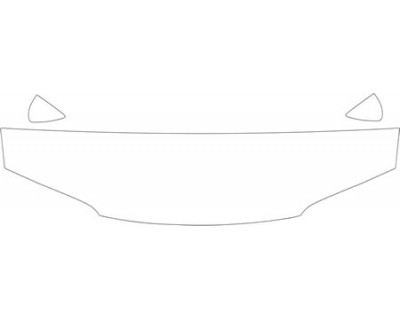 1994 HONDA ACCORD COUPE  HOOD AND FENDER KIT