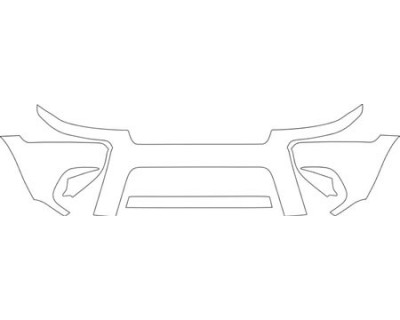 2004 JEEP GRAND CHEROKEE  BUMPER