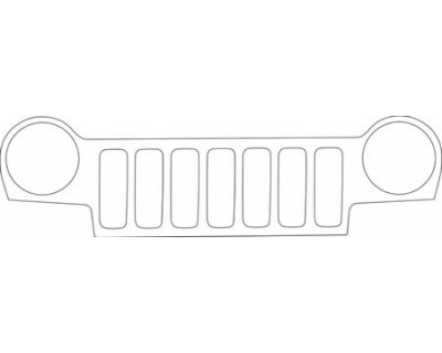 2004 JEEP LIBERTY  GRILLE KIT