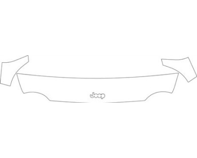 2004 JEEP LIBERTY  Hood Fender Mirror Kit