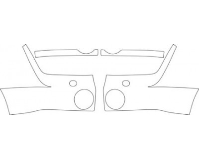 2003 LAND ROVER DISCOVERY II  BUMPER