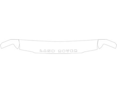 2003 LAND ROVER DISCOVERY II  HOOD- FENDER